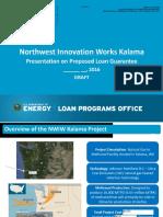 Northwest Innovation Works Presentation Reissue