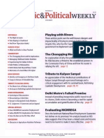 Economic and Political Weekly Vol. 47, No. 16, APRIL 21, 2012