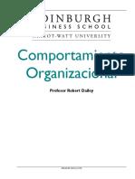 Robert Daeley- Comportamiento Organizacional