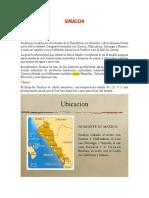 Monografia de Sinaloa