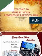 DMED Powerpoint (Digital Audio)