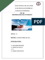 Informe NIC 40