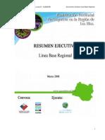 Resumen Ejecutivo Diagnóstico Regional