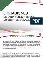 Tema II Licitaciones de Obra Publica en Sus Diferntes Modalidades (2)