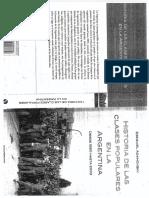 ADAMOVSKY, Ezequiel - Historia de Las Clases Populares en La Argentina 1880 - 2003