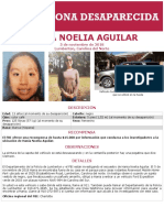 FBI poster for Hania Aguilar in Spanish