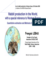2009 Lebas KAZAN Production of Rabbit