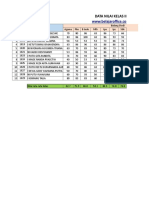 Format Cetak Raport Excel