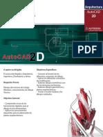 Contenido AutoCAD 2D 2018 NAC