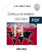 Cartilla Historia