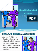 Health Related Fitness Components