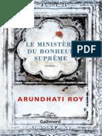 Roy Arundhati - Le Ministère Du Bonheur Suprême
