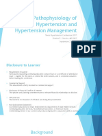 2_Pathophysiology of Hypertension and Hypertension Management