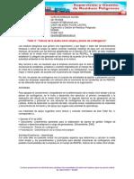 """Taller 3 """"Cálculo de La Media Móvil Simple y Planes de Contingencia"""""""