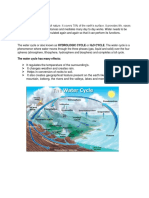 Water Cycle Mod