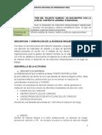 Informe Análisis de Valores, Misión y Políticas Organizacionales
