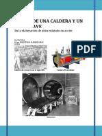 Diseño de Equipos - Autoclave, Caldera