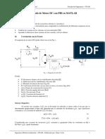 Modelado de Motor DC Con PID en MATLAB