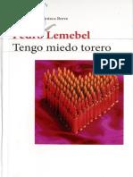 Tengo miedo torero Pedro Lemebel.pdf