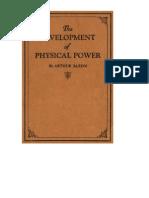 arthursaxon-devofphyspower