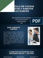 Evidencia 7.Cartilla de Pausas Activas y Habitos Saludables