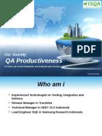 QA Productiveness