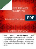 KONSEP DASAR PROMKES - I.ppt