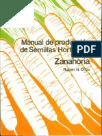 1992 - Manual de Producción Semillas de Zanahoria