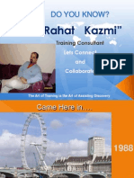 Do You Know Rahat Kazmi, 2010