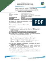 Ficha de Evaluacion de Desempeño Laboral
