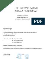 Gran Sesion Lesion n. Radial Asociado a Fracturas Humero