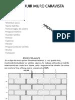 4.- 1 Construir Muro Caravista