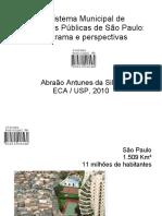 O Sistema Municipal de Bibliotecas Públicas de São Paulo
