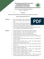 SK Penilaian, Pengendalian, Penyediaan Dan Penggunaan Obat