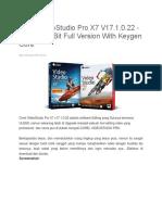 Corel VideoStudio Pro X7 V17