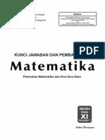 01 Kunci Mat 11A Peminatan K-13 Edisi 2017-1