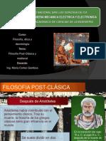 Semana 04 - Filosofía Postclásica y Medieval