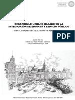 XU - Desarrollo Urbano Basado en La Integración de Arquitectura y Espacio Público- Con El Análisi...