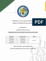 Informe Investigación - Diseño Digital - Estructuras Básicas de Código VHDL