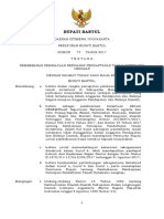 Peraturan PTSL Kab. Bantul