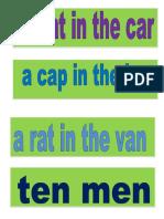 Cvc Phrases