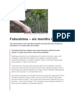 Fukushima – Six Months Later - The Science of Nuclear Energy - The Open University