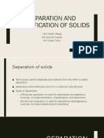IP4. Separation and Classification of Solids