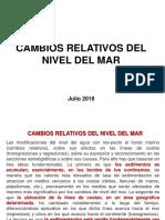 16 Cambios Relativos Del Nivel Del Mar 30 Julio