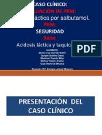 Acidosis Lactica Por Salbutamol