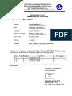 Surat Pernyataan Kurikulum k13