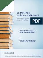 Clase Uno - Defensa Jurídica - Concepto y Antecedentes