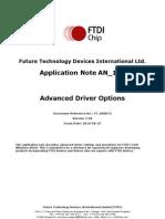 An 107 Advanced Driver Options an 000073