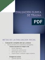 Evaluacion Clinica Trauma