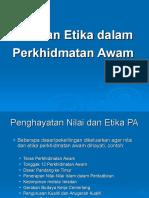 Nilai Dan Etika Perkhidmatan Awam Tonggak 12 Copy